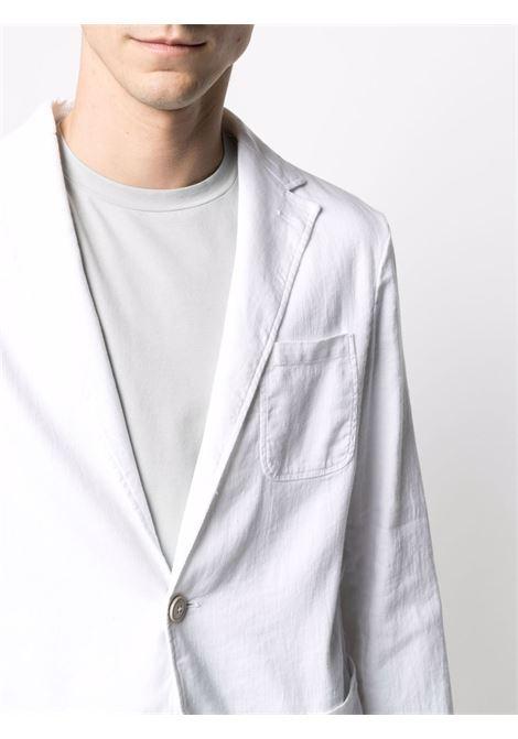 Blazer monopetto in cotone lino e lino bianco ALTEA   Giacche   215205429