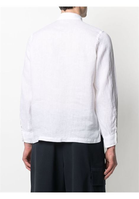 White linen button-placket shirt featuring classic collar ALTEA |  | 215400229