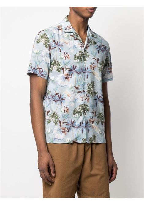 Camicia a stampa floreale in cotone multicolor ALTEA | Camicie | 215402912