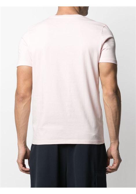 T-shirt rosa pallido in cotone con stampa grafica ALTEA | T-shirt | 215525382