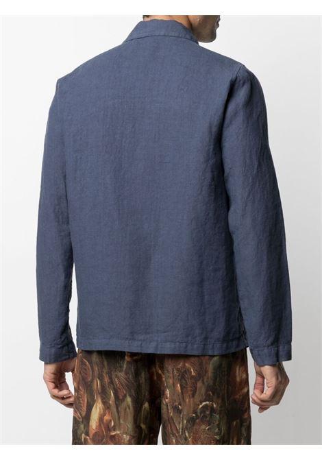 Blue linen shirt jacket  ALTEA |  | 215732408
