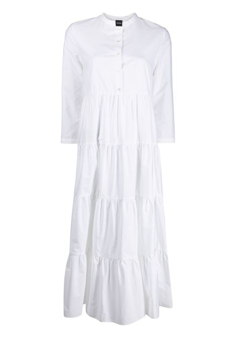 White cotton flared tier-design shirt dress ASPESI |  | 2912-C11807072