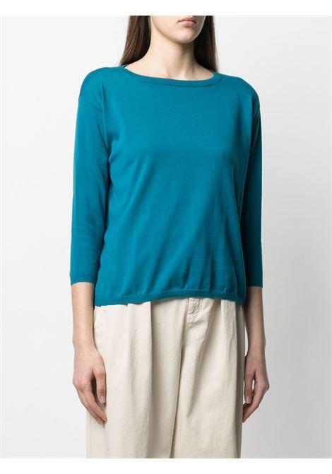 Cerulean-blue cotton long-sleeved jumper  ASPESI |  | 3702-337101057