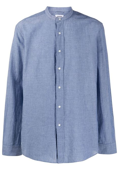 Blue cotton relaxed fit shirt  ASPESI |  | CE76-F02501104