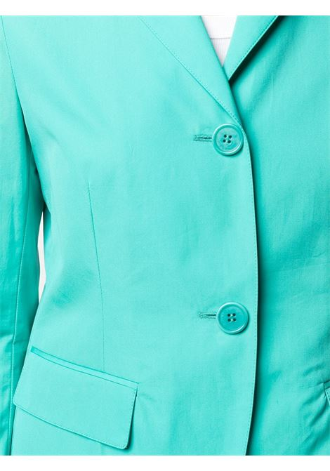 Turquoise green cotton fitted tailored blazer  ASPESI |  | H303-D30785006