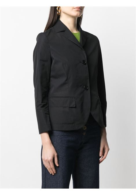 Black cotton short poplin blazer  ASPESI |  | H303-D30785241