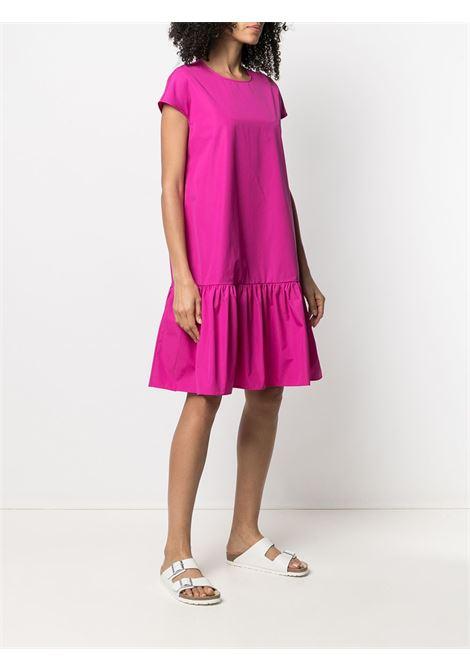 Pink cotton midi dress featuring ruffle hem ASPESI |  | H607-D30785254