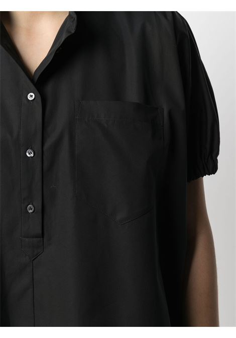 Black cotton Camsia short-sleeve shirt  ASPESI |  | H712-D30785241