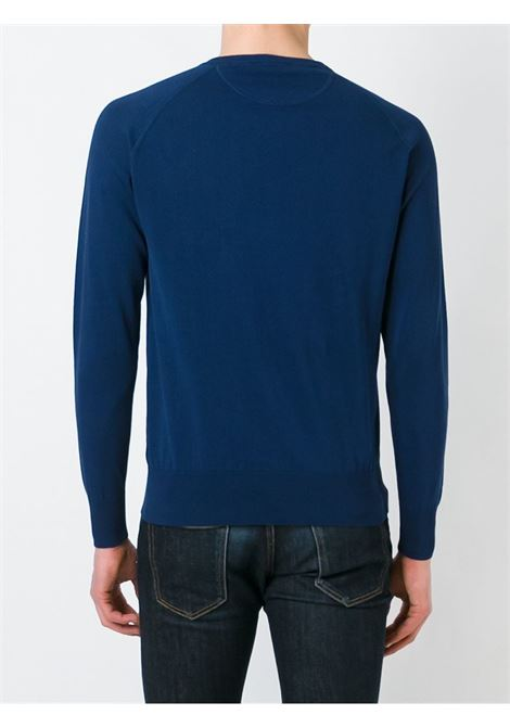 Blue cotton crew neck sweater ASPESI |  | M039-337101034