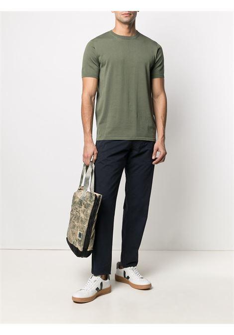 Olive-green cotton short-sleeved T-shirt ASPESI |  | M149-337101260