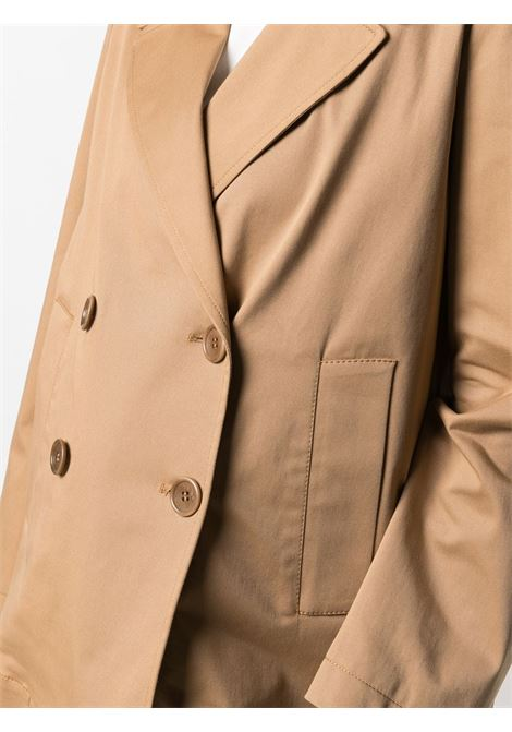 Camel cotton double-breasted blazer  ASPESI |  | WJ06-G41701372