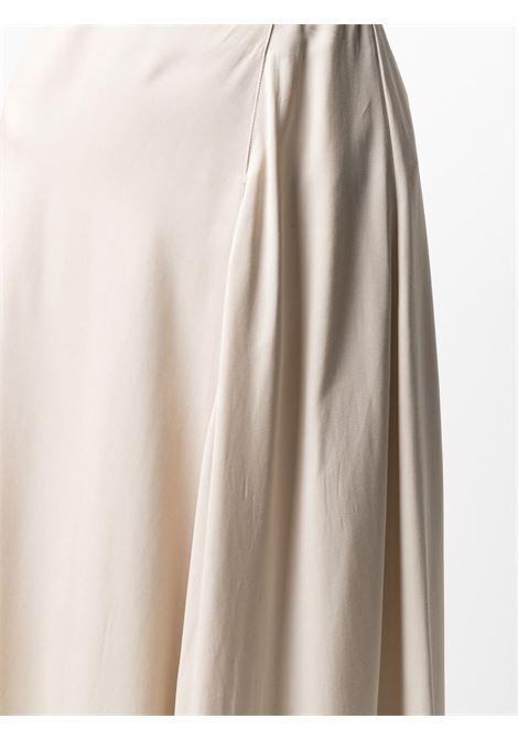 Beige drop-hem asymmetric skirt  ASPESI |  | WS04-G46101044