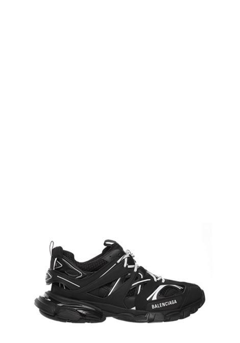 Track sneakers in black polyurethane with white details BALENCIAGA |  | 542023-W3AC11090