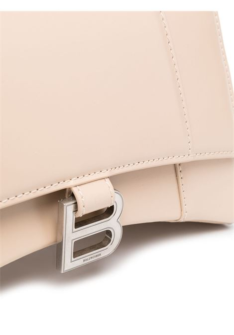 small Hourglass bag in hazelnut calfskin  BALENCIAGA |  | 593546-1QJ4Y2730