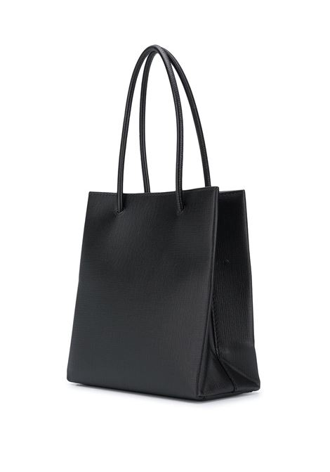 Everyday shopping tote piccola in pelle di vitello nera BALENCIAGA | Borse a mano | 597858-0AI2N1000