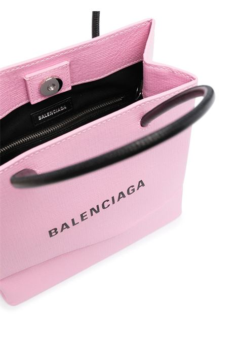 Borsa shopping piccola Everyday in pelle di vitello rosa BALENCIAGA | Borse a mano | 597858-0AI2N5616
