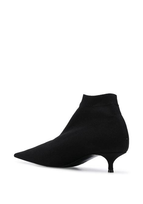 Black Knife ankle sock booties  BALENCIAGA |  | 615010-W18021090