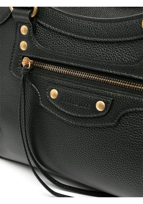 Black calf leather Neo Classic small top handle bag  BALENCIAGA |  | 638521-15Y411000