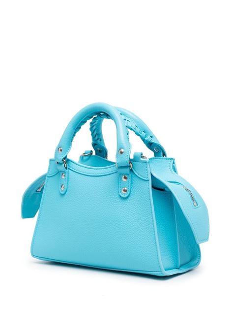 Mini borsa tote Neo Classic City in pelle azzurra BALENCIAGA | Borse a tracolla | 638524-15Y4Y4805