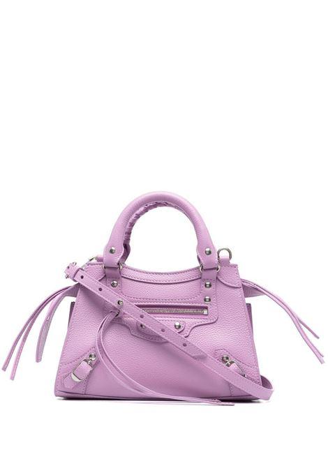 Mini borsa tote Neo Classic City in pelle lilla BALENCIAGA | Borse a tracolla | 638524-15Y4Y5303
