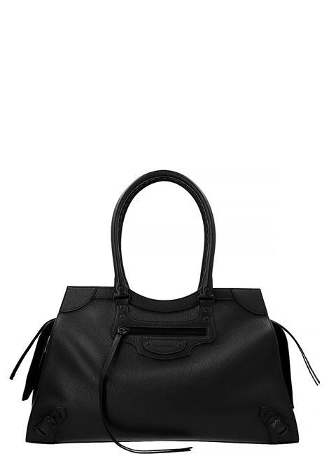 Black grained calfskin Neo Classic duffle bag  BALENCIAGA |  | 638531-15Y471000