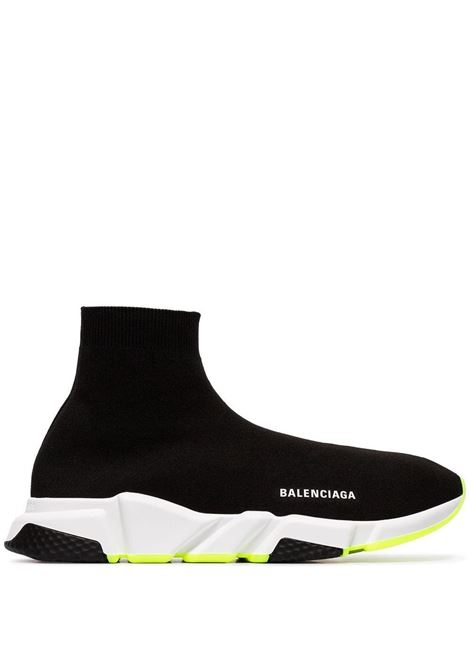 Black Speed socks-sneakers with white Balenciaga logo BALENCIAGA |  | 645056-W2DB91016