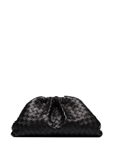 Black lamb leather The Pouch featuring magnetic fastening BOTTEGA VENETA |  | 576175-VCPP01229