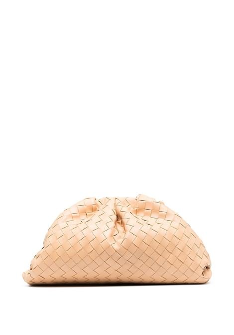 beige lamb leather The Pouch featuring magnetic fastening BOTTEGA VENETA |  | 576175-VCPP02700