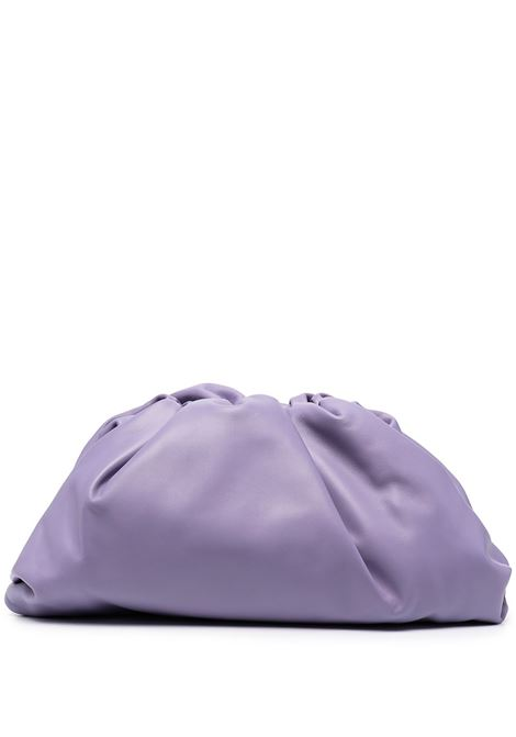 Violet lamb leather and nappa The Pouch clutch bag BOTTEGA VENETA |  | 576227-VCP405130