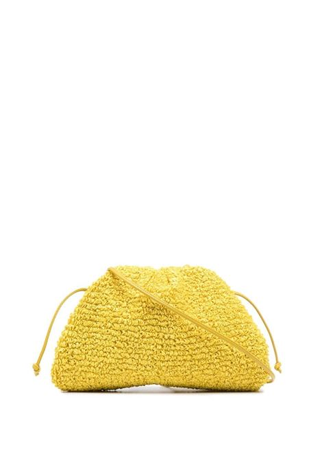 Yellow raffia The Pouch clutch bag  BOTTEGA VENETA |  | 585852-V0SR12671