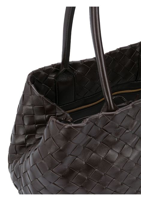dark brown nappa leather Intrecciato tote bag  BOTTEGA VENETA |  | 600504-VCPP12127