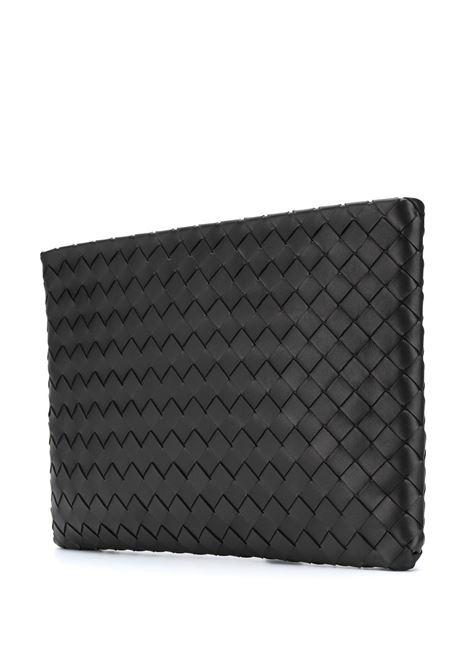 black lamb leather Intrecciato pouch BOTTEGA VENETA |  | 608249-VCPP18803