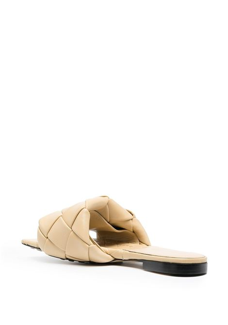 Sand beige lamb leather BV Lido flat sandals   BOTTEGA VENETA |  | 608853-VBSS02624