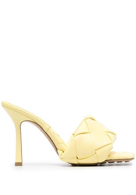 Yellow lambskin The Lido 90mm sandals  BOTTEGA VENETA |  | 608854-VBSS07411