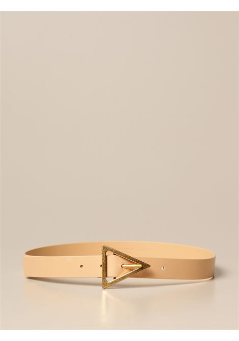 Beige calf leather 3cm belt featuring gold tone buckle BOTTEGA VENETA |  | 609275-VMAU12700