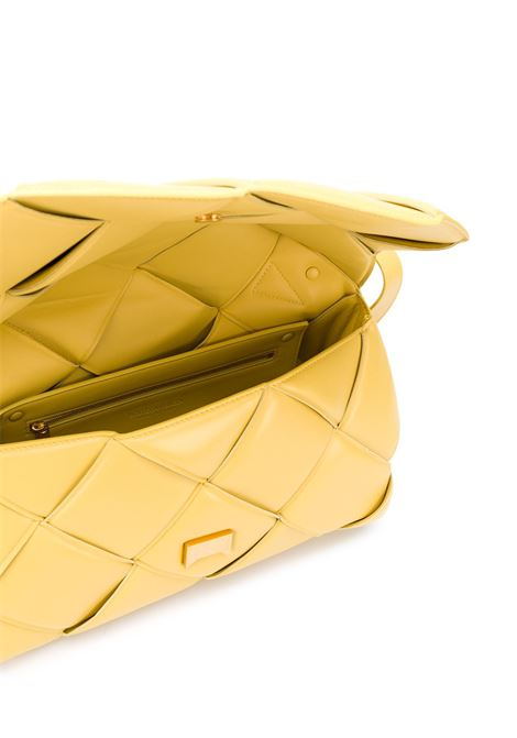 Yellow nappa leather shoulder bag from featuring Intrecciato design BOTTEGA VENETA |  | 632647-VCQR17144