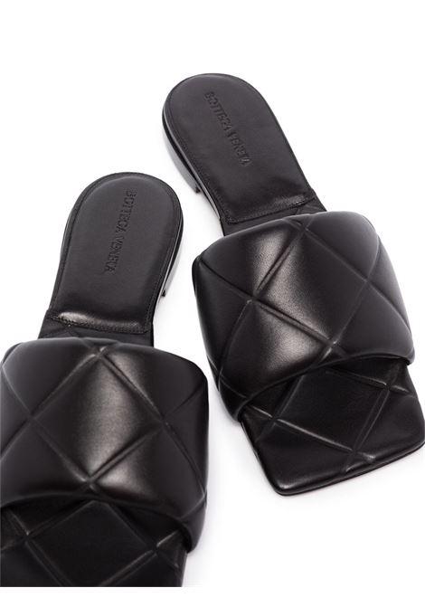 Black lamb leather BV Lido sandals  BOTTEGA VENETA |  | 639940-VBP301000