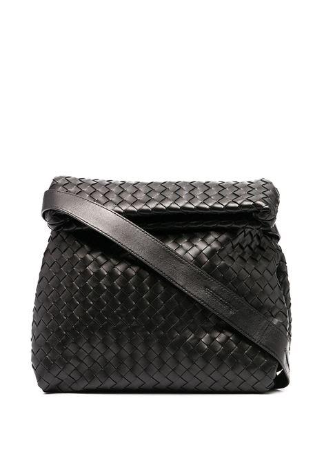 Black leather Intrecciato shoulder bag  BOTTEGA VENETA |  | 642637-V08Z18425