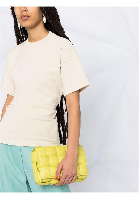 Beige cotton T-shirt featuring panelled design BOTTEGA VENETA |  | 642833-V0I509206