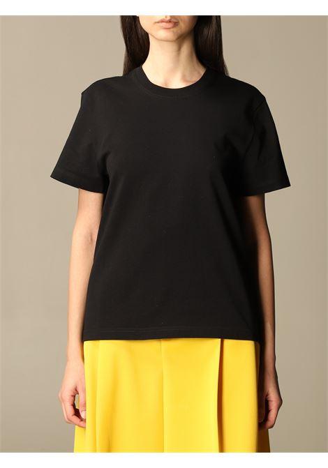 T-shirt a maniche corte in cotone nero BOTTEGA VENETA | T-shirt | 649060-VF1U01000