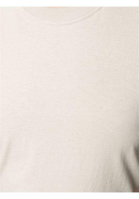 sand colored cotton short-sleeve T-shirt BOTTEGA VENETA |  | 649060-VF1U06761
