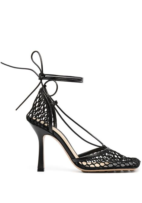 Black lambskin Stretch Mesh pumps from featuring mesh detailing BOTTEGA VENETA |  | 651388-VBSD31000