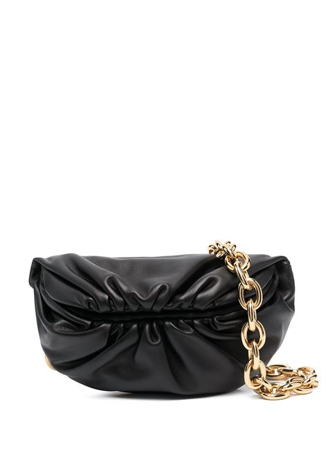 Black calf leather The Pouch Belt bag  featuring gold-tone hardware BOTTEGA VENETA |  | 651445-VCP418648