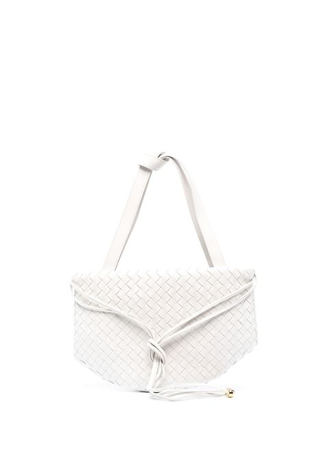 White lamb leather leather trapeze tote bag  BOTTEGA VENETA |  | 651811-V08Z19143