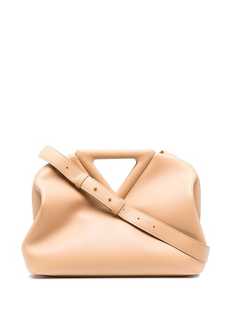 Nude calf leather The Point shoulder bag   BOTTEGA VENETA |  | 652446-VCP402700