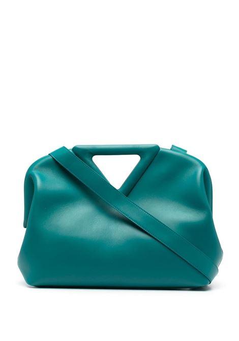 teal calf leather The Point shoulder bag   BOTTEGA VENETA |  | 652446-VCP403118