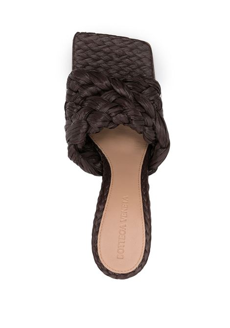 Brown leather Stretch sandals featuring Intrecciato design BOTTEGA VENETA |  | 652451-V0GM02019