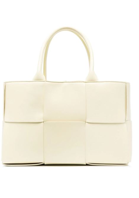 Ice cream yellow lamb leather medium Arco tote bag  BOTTEGA VENETA |  | 652867-VCQC27450