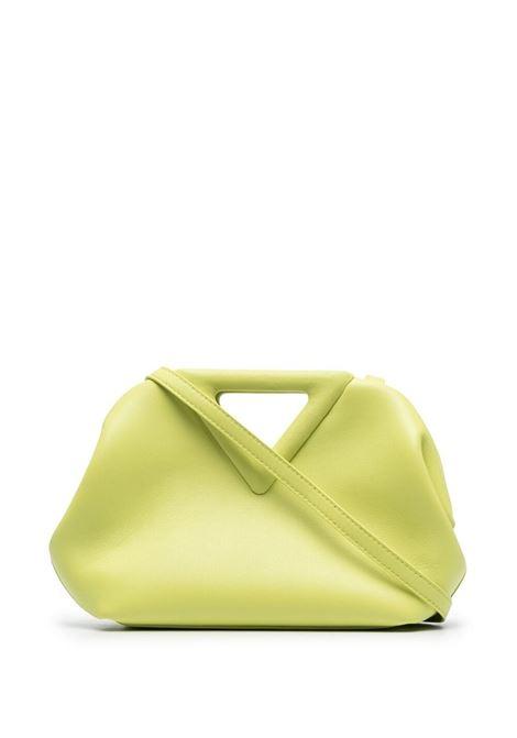 green calf leather small Point clutch bag  BOTTEGA VENETA |  | 658476-VCP403458