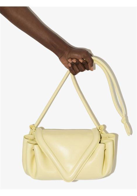 Ice cream yellow calf leather Beak crossbody bag  BOTTEGA VENETA |  | 658523-VCP307450
